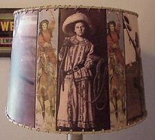"Cowgirl Lamp Shade, 10"" x 12"" Med, Western Decor"