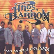New: Hermanos Barron: Con Mucha Polvora  Audio CD