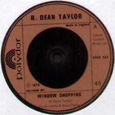 "R. DEAN TAYLOR ~ WINDOW SHOPPING / BONNIE ~ 1974 UK 7"" SINGLE ~ POLYDOR 2058 502"