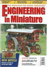 Engineering In Miniature Volume 31 Number 8 February 2010 Good Condition