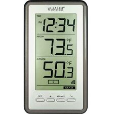 LA Crosse WS-9160U-IT-CBP Easy Read Digital Wireless Thermometer Indoor/Outdoor