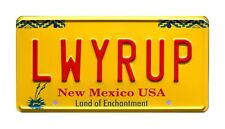 Breaking Bad | Better Call Saul Goodman | LWYRUP | STAMPED Prop License Plate
