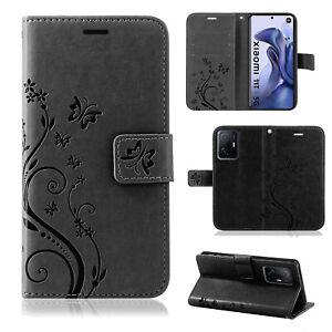 Handy Tasche Xiaomi 11T / 11T Pro, Hülle Handyhülle Flip Case Klapphülle Etui BF