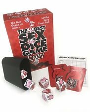 The Best Sex Dice X-rated Game Ever, Adult Couple Bedroom Naughty Foreplay, New