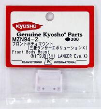 Kyosho Mini Z MZN94-2 Front Body Mount (MITSUBISHI LANCER Evolution X)
