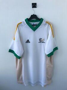 SOUTH AFRICA NATIONAL TEAM 2002/2004 HOME FOOTBALL SHIRT JERSEY CAMISETA ADIDAS