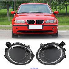 1 Pair Fog Light Clear Lenses Driving Lamp For 01-06 BMW E39 E46 3Series 520i M3