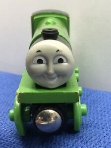 Thomas & Friends Wooden Railway Train by Learning Curve Henry No Tender Used