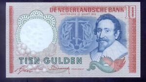 Netherlands 10 Gulden  (BRM) 1953  P85  aUNC