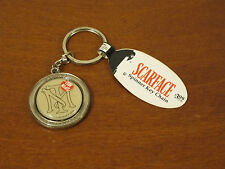 Scarface Spinner Key Chain The World is Yours Spinning World Pendant