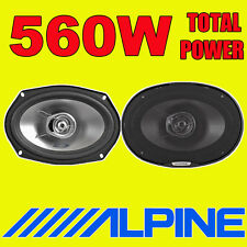 Alpine SXE-6925S 2-Way 15.24 x 22.86 cm Car Speaker