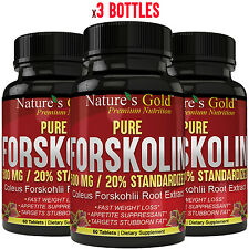 Forskolin 500mg Extract for Weight Loss. Pure Forskolin slim diet pills