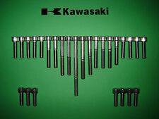 Kawasaki ZZR1100 ZZR 1100 Stainless SS Allen Screw Engine Kit *UK FREEPOST*