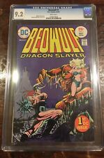 Beowulf #1 CGC 9.2 4-5/75 DC White pages
