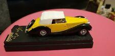 SOLIDO 1/43 - 4048 DELAYAYE 135 M - TWO TONE BLUE DIE-CAST MODEL CAR