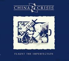 China CRISIS-Flaunt the Imperfection (Deluxe Edition) 2 CD NUOVO