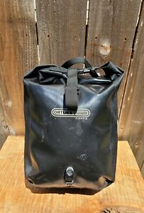 ORTLIEB SINGLE BLACK CLASSIC FRONT ROLLER PANNIER