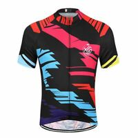 Men's Cycling Jersey Bike Jersey Short Sleeve Bicycle Jersey Breathable