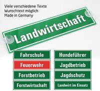#1365 Winterdienst Schild mit Saugnäpfen 20x5cm Saugnapfschild KFZ