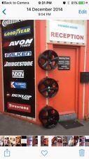 10 X Alloy Wheel Display Hooks, Wheel Display Hooks, Wheel Display Purpose Made'