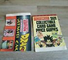 Lot of 2 Collectors Card Game Price Guides dragon ball z ultimate price guide