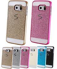 Handy Schutz Glitzer Hülle Tasche Samsung Galaxy Case Bumper Strass Back Cover