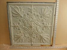 """Antique Decorative Tin Ceiling Tile Panel Vintage Metal 2' x 2' (24"""" x 24"""")"""