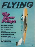 Flying Magazine July 1968 The Super Planes - the Arrow Sport - Wing Derringer