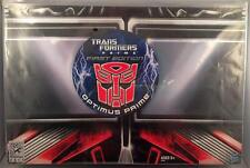 SDCC 2011 OPTIMUS PRIME First Edition Transformers Display Matrix Deluxe Class