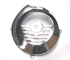 Vespa 1. Serie V50 50N - Bj. 1965  Lüfterradabdeckung klein Motor Edelstahl NEU