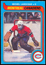 1979 80 OPC O PEE CHEE 296 MICHEL LAROCQUE NM MONTREAL CANADIENS HOCKEY CARD