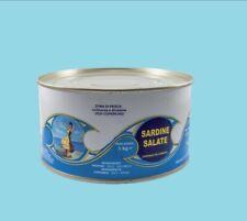 sardine salate Italia Sicilia SCIACCA sotto sale, Artigianale senza conservanti