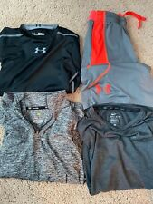 Lot Boys Athletic Clothes Size M - Nike and Under Armour