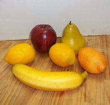 Faux Fake Fruit Assorment Artificial Realistic Theater Prop Home Staging Artist