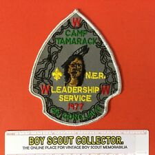 Boy Scout 1977 OA 4A Conclave Patch Camp Tamarack FREE SHIPPING WWW