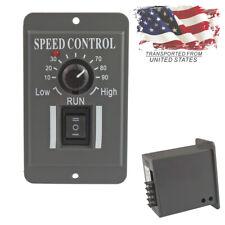 US 12V 24V 36V 48V PWM DC Motor Speed Controller Reversible Switch 6A Regulator