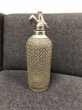 Art Deco Sparklets Ltd Makers London Soda Syphon Vintage 1920s