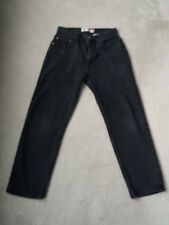 Men's Levi's Black Regular Fit 505 Jeans Size W34/L32