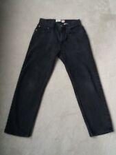 Men's Levi's Black Regular Fit 505 Jeans Size w34/l32