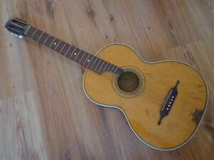 Alte Gitarre Konzertgitarre vermutlich Meinel & Herold