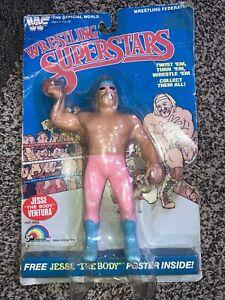 "WWF Wrestling Superstars Jesse ""The Body"" Ventura figure LJN 1985 Unopened"