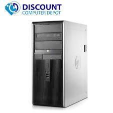Fast HP Desktop Computer PC Tower Intel Core2Duo 3.0GHz 4GB 500GB Windows 10