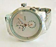 Guess Stainless Steel Black & White Watch Model W15065G1