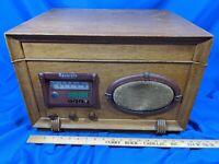Wilcox Gay Recordio 6B30 AM Radio/Record Booth Lathe Player VTG Tube Amp