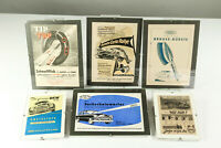 Konvolut Prospekte alte Werbung DKW Preisliste Helphos ARAG usw 50er Jahre