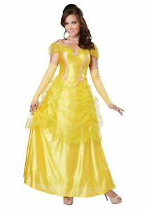 Beauty & The Beast Women's Classic Beauty Belle Halloween Costume - XS #4370