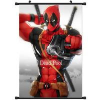 Deadpool Wade Wilson Marvel X-Men Home Decor Poster Wall Scroll cosplay 2925