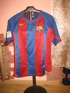 Barcelona FCB Nike Home 2004/05 Jersey/Shirt size M