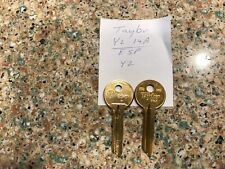 NEW ESP Y2, TAYLOR Y2 14A Key Blank Yale Locks (Lot of 2) FAST FREE SHIPPING!!