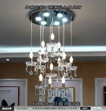 LED Dining Room Bedroom Staircase Hallway Hanging Lamp Garage Crystal Lighting